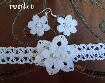 set crochet jewelry