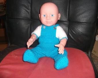 16inch Baby Boy doll dressed