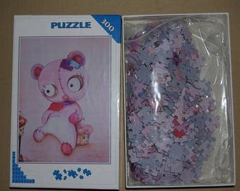 """300 puzzle pieces pattern """"Teddy"""" clearance"""