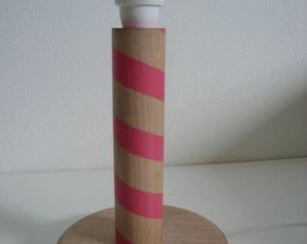 """""""Candy"""" pink and Yellow lamp base"""