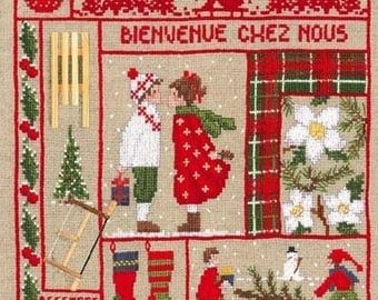 Ladies welcome December blessed Embroidery Kit