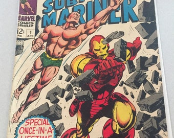 Iron Man and Sub-Mariner #1 - Extremely Rare First Issue