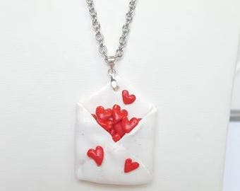 Enchanted envelope full of hearts