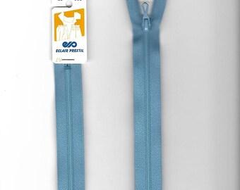 """Closure 20cm zipper""""plastic"""" not separable Z51 blue 508"""