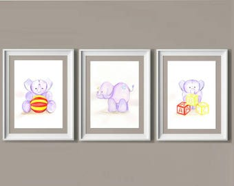 Baby Elephant Set of 3