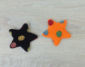 Set of 2 appliques sewing Star :-)