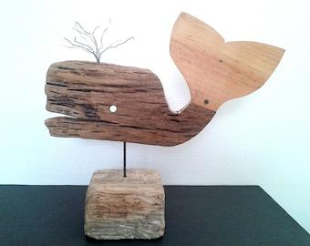 Driftwood - THE BIG WHALE whale