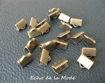 1 lot 20 caps clips claws for bronze10 bias tape
