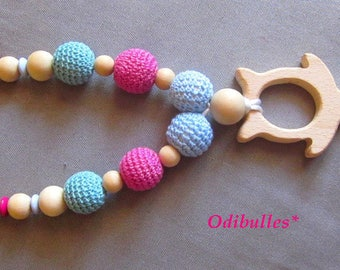 Nursing necklace for Mom and baby