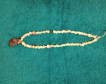 Paua & Mother of Pearl Necklace