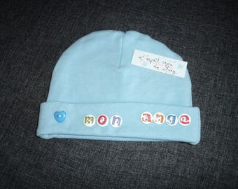 My Angel blue newborn Hat