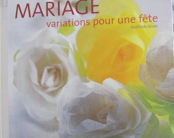 """""""Marriage variations for a party"""" book - prepare the big day theme"""
