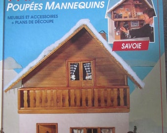 """Book """"build and decorate a home for your dolls manneqjuins"""""""