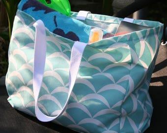 Beach bag, tote bag