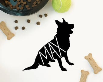 Custom German Shepherd Decal