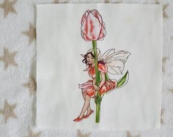 Patchwork fairy Tulip fabric coupon