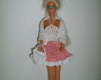 Dress, shawl and bag doll
