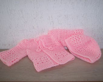 Jacket and hat for Preemie / newborn