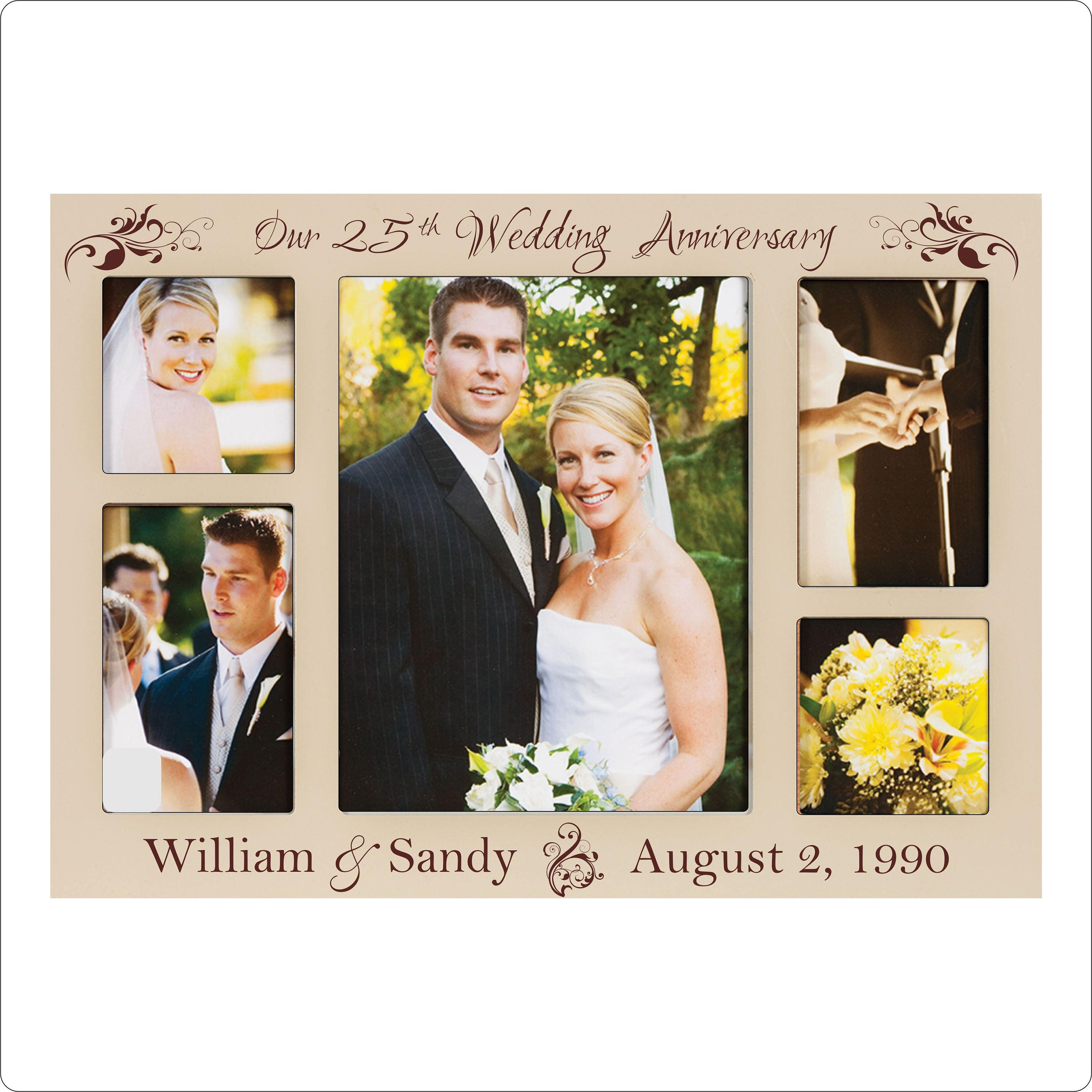 Personalized anniversary frame st th