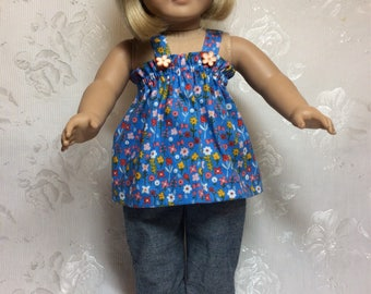 American Girl Doll Summer Outfit