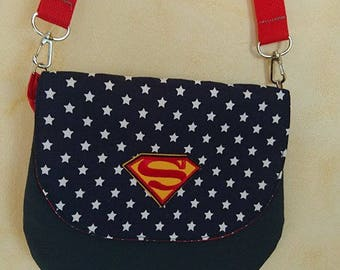 Lil shoulder bag model SUPERMAN stars