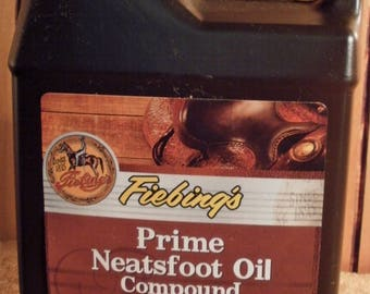 Fiebing's 16 oz. Prime Neatsfoot Oil Compound Leather conditioner #306