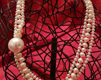 Pearl Multiwire Necklace