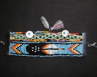Navajo Indian Cuff Bracelet