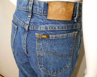 Vintage Lee jeans denim  /waist 29/ high waisted mom jeans