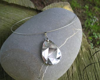 Multicolor Pearl Teardrop necklace
