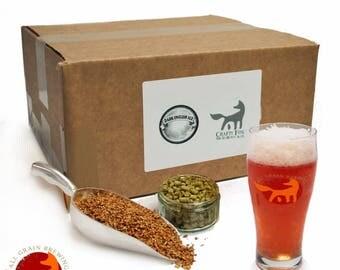 Crafty Fox 1 Gallon Beer Making Recipe Refill - Dark English Ale