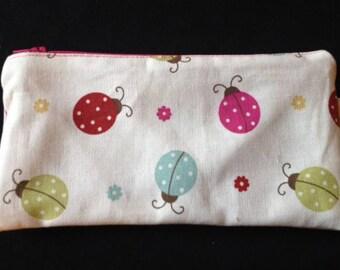 Kit cotton ladybugs and dots patterns