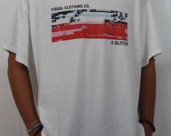 Glitch T-shirt from: Visual Clothing Co.
