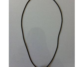 Necklace with toggle clasp by Silver round BAGART