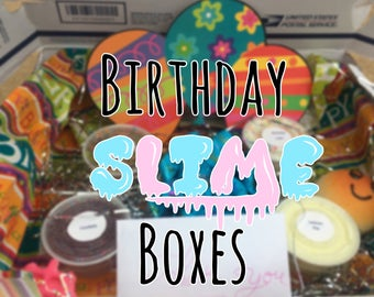 Birthday Slime Box