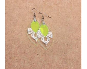 Earrings - Calypso - neon