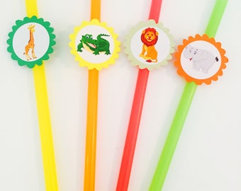 Kids Safari Straw