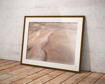Sand Dunes - Wall Art Prints, Aerial Photography, Drone Art, Home Decor, Wall Art, Poster, Digital Print, Beach Print, Beach Photography