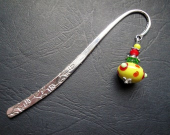 Yellow bead bookmarks