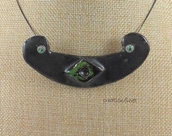 "necklace ""Goddess Hathor"" earthenware"