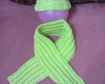 scarf crochet baby Hat