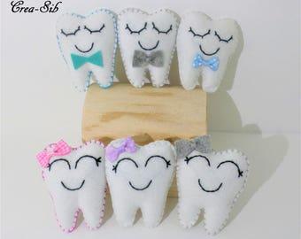 Teeth for the tooth fairy bag