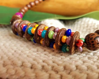 Multicolor Choker necklace