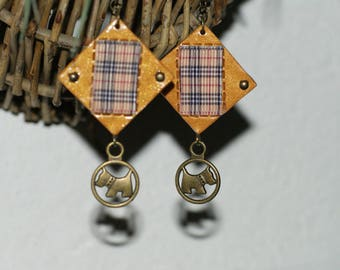 "Fashion Earrings ""made in French"""