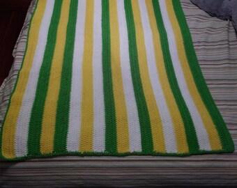 Crocheted Toddler Blanket