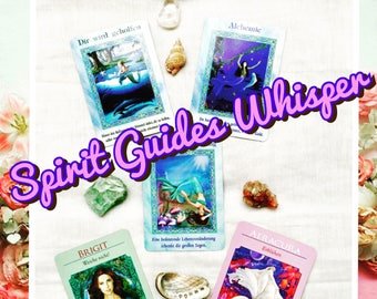 Intuitive Reading - Spirit Guides Whisper
