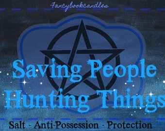 Bookcandles-Supernatural-Anti Possession-Soy candle-handmade