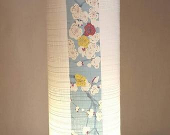 beautiful lamp in Japanese fabrics and silk