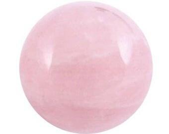 30mm rose quartz sphere