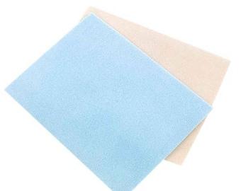 Blue beading mat